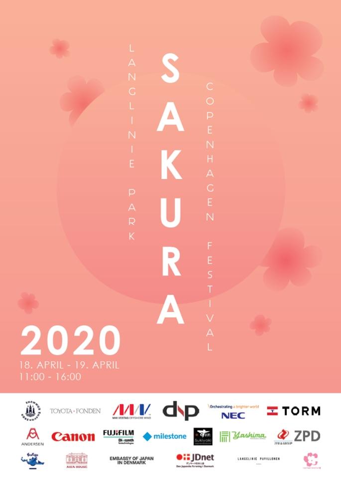Sakura Festival 2020 Flyer